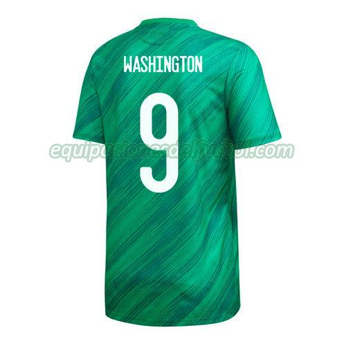 camiseta conor washington 9 irlanda del norte 2020 primera - verde hombre