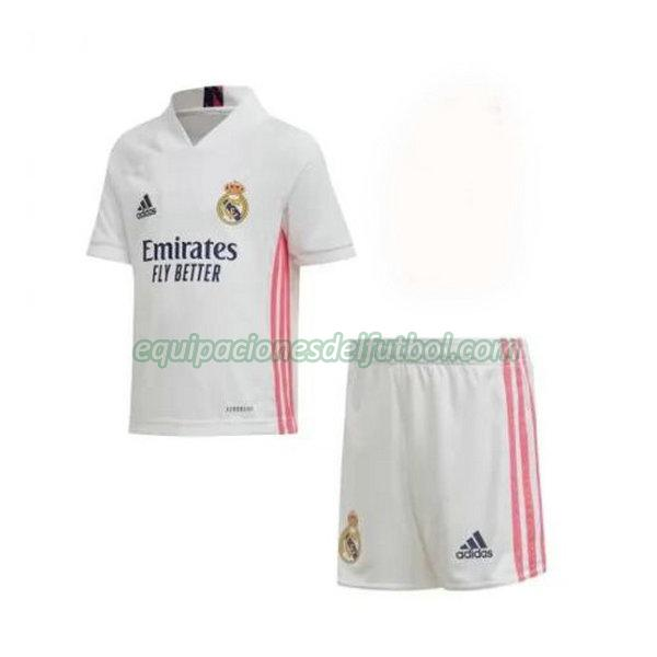 camiseta real madrid 2020-2021 primera - blanco niño