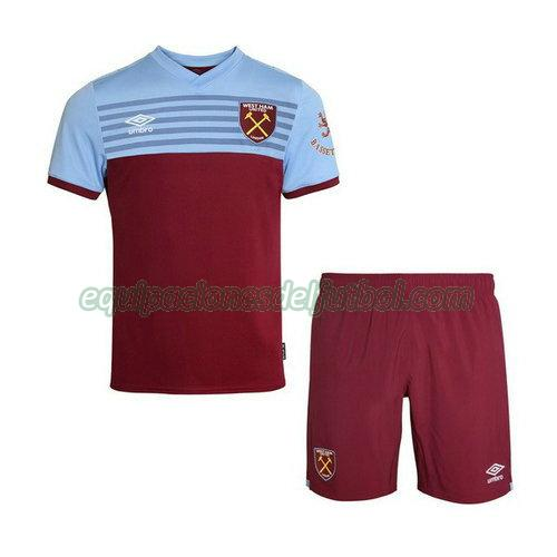 camiseta west ham united 2019-2020 primera - rojo niño
