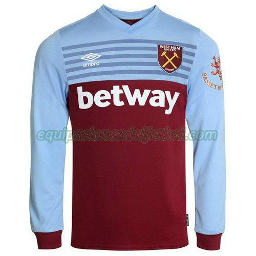 camiseta west ham united 2019-2020 primera ml - azul hombre